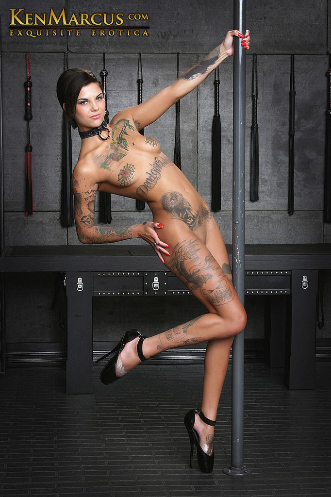 Pole Dancer Bonnie Rotten Forced to Cum!